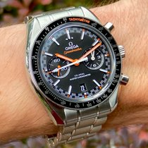 Omega Speedmaster Racing pre-owned 44.25mm Black Chronograph Date Tachymeter Steel