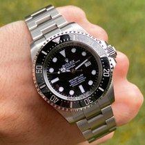 Rolex Sea-Dweller Deepsea Steel 44mm Black No numerals United States of America, Wisconsin, Jefferson