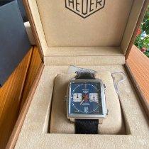TAG Heuer Monaco Calibre 11 Steel 39mm Blue No numerals United States of America, Texas, Richmond