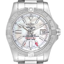 Breitling Avenger II GMT Steel 42mm Mother of pearl United States of America, Georgia, Atlanta