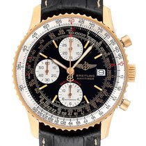 Breitling Or jaune Remontage automatique Noir 41.5mm occasion Navitimer