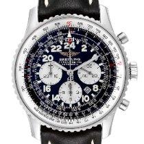 Breitling Navitimer Cosmonaute Steel 41.5mm Black Arabic numerals