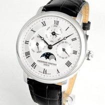 Frederique Constant Manufacture Slimline Perpetual Calendar Staal 42mm Zilver
