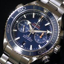 Omega 232.90.46.51.03.001 Titane 2015 Seamaster Planet Ocean Chronograph occasion