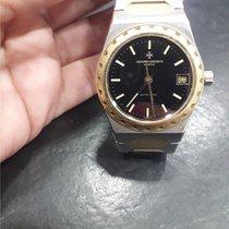 Vacheron Constantin Overseas Gold/Steel 34mm Black No numerals