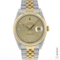 Rolex Datejust Gold/Steel 36mm Gold