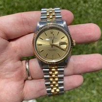 Rolex Datejust Gold/Steel 36mm Champagne United States of America, Florida, Boca Raton