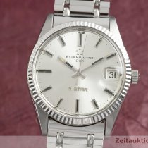 Eterna Steel 34.5mm Automatic Matic pre-owned