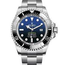 Rolex Sea-Dweller Deepsea Staal 44mm Blauw