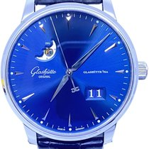 Glashütte Original Senator Excellence Steel 42mm Blue No numerals United States of America, Florida