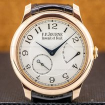 F.P.Journe Souveraine Red gold 40mm Silver Arabic numerals United States of America, Massachusetts, Boston