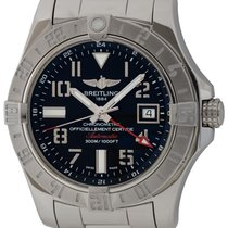 Breitling Avenger II GMT Steel 43mm Black Arabic numerals United States of America, Texas, Austin