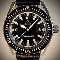 Omega Seamaster 300 Steel 42mm Black Arabic numerals
