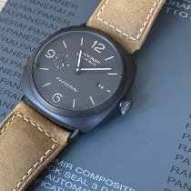 Panerai Radiomir Black Seal 3 Days Automatic occasion 45mm Noir Date Cuir