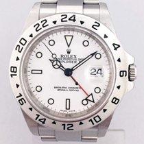 Rolex Explorer II Сталь 40mm Белый Без цифр