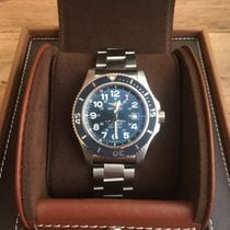 Breitling Superocean II 44 Steel 44mm Blue Arabic numerals