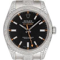 Rolex Milgauss 116400 Nenošeno Zeljezo 40mm Automatika