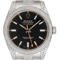 Rolex Milgauss 116400 Nem viselt Acél 40mm Automata