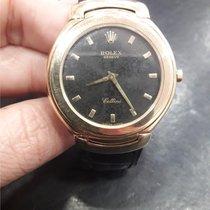 Rolex Cellini Κίτρινο χρυσό 38mm Μαύρο Ελλάδα, THESSALONIKI