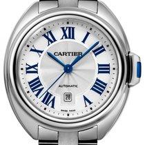Cartier Clé de Cartier Acier 31mm Argent Romains