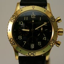 Breguet Yellow gold Automatic Black Arabic numerals pre-owned Type XX - XXI - XXII