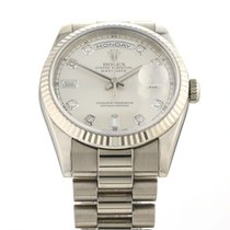 Rolex Day-Date 36 Белое золото 36mm