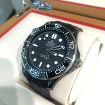 Omega Céramique Remontage automatique Noir 43.5mm occasion Seamaster Diver 300 M