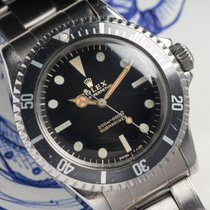 Rolex Submariner (No Date) 5513 1966 подержанные