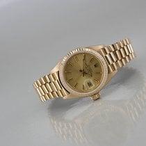 Rolex Lady-Datejust Gelbgold 26mm Gold Keine Ziffern Deutschland, Bochum