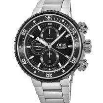 Oris ProDiver Chronograph new 2021 Automatic Chronograph Watch with original box and original papers 01 774 7727 7154-Set