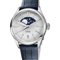 Oris Artelier Date nuevo 2020 Automático Reloj con estuche y documentos originales 01 763 7723 4051-07 5 18 66FC