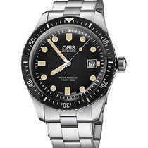 Oris Divers Sixty Five 01 733 7720 4054-07 8 21 18 Ny Stål 42mm Automatisk