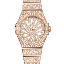 Omega Red gold Automatic 31mm new Constellation Ladies