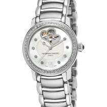 Frederique Constant FC-310DHB2PD6B Steel 2020 Ladies Automatic Double Heart Beat 34mm new