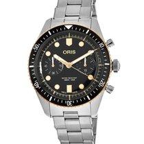 Oris Divers Sixty Five 01 771 7744 4354-07 8 21 18 Neu Stahl 43mm Automatik