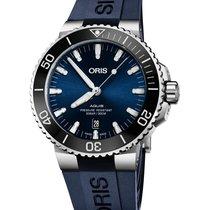 Oris Aquis Date 01 733 7730 4135-07 4 24 65EB Nieuw 43.5mm Automatisch
