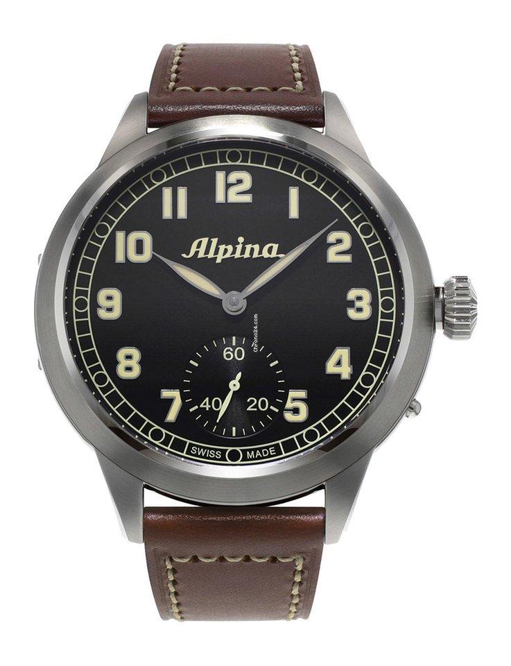 Alpina Startimer Pilot Heritage AL435B4SH6 2021 новые