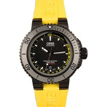 Oris Aquis Depth Gauge new 2021 Automatic Watch with original box and original papers 01 733 7675 4754-Set RS