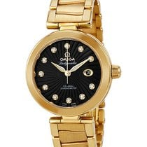 Omega Or jaune Remontage automatique 34mm nouveau De Ville Ladymatic
