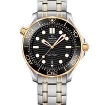 Omega Seamaster Diver 300 M nuevo 2020 Automático Reloj con estuche y documentos originales 210.20.42.20.01.002