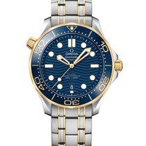 Omega Seamaster Diver 300 M nuevo 2020 Automático Reloj con estuche y documentos originales 210.20.42.20.03.001
