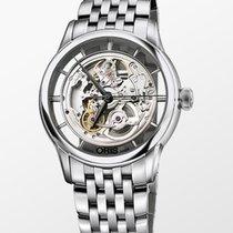 Oris Artelier Translucent Skeleton nuevo 2020 Automático Reloj con estuche y documentos originales 01 734 7684 4051-07 8 21 77