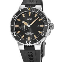 Oris 01 743 7733 4159-07 4 24 64EB Steel 2021 Aquis Small Second 45.5mm new