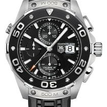 TAG Heuer Aquaracer 500M new 2010 Automatic Chronograph Watch with original box CAJ2110FT6023
