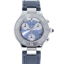 Cartier 21 Chronoscaph W1020013 2010 pre-owned