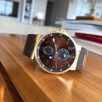 Ulysse Nardin Marine Chronometer 41mm Pозовое золото 41mm Коричневый Aрабские
