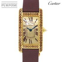 Cartier Жёлтое золото 19mm Кварцевые WB706431 подержанные