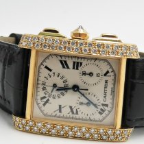 Cartier 1830 Yellow gold 1999 Tank Française 28mm pre-owned