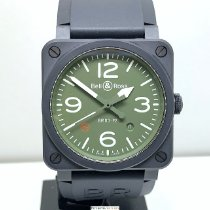 Bell & Ross BR 03-92 Ceramic BR03-92-MIL-CE Very good Ceramic Automatic