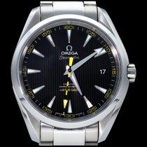 Omega Seamaster Aqua Terra Acier 41.5mm Noir Sans chiffres